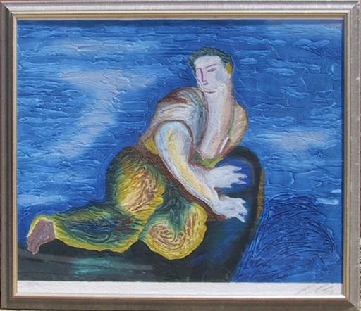 Sandro CHIA - Print-Multiple - Lonely Dude