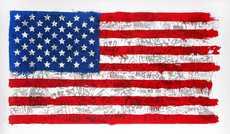 MR BRAINWASH - Estampe-Multiple - American flag