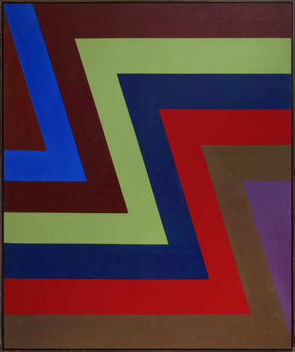 Howard MEHRING - Painting - 2 and 1 Tan