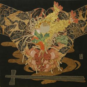 Hiroomi ITO - Pittura - Soba en los pies