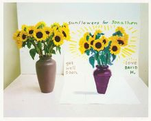 David HOCKNEY - Estampe-Multiple - Photography is Dead  Long Live Painting