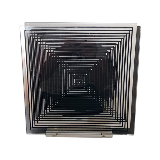Victor VASARELY - Sculpture-Volume - Beta '85