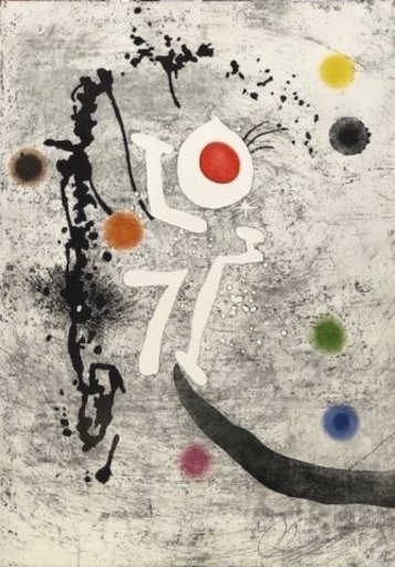 Joan MIRO - Druckgrafik-Multiple - Les Formigues