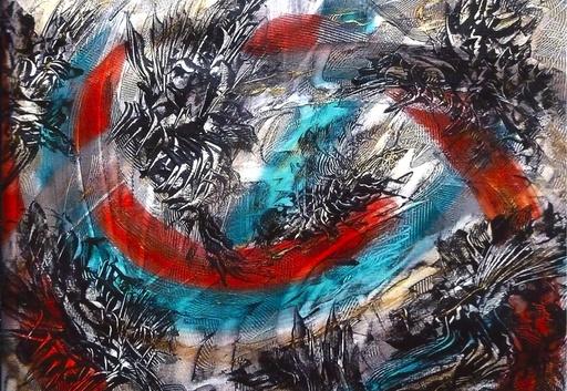 Didier ANGELS - Gemälde - Défendons nos libertés