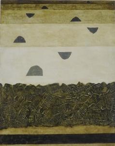 Rudolf JAHNS - Peinture - Raumkomposition