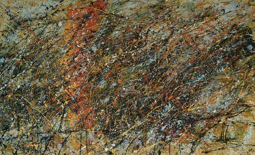 Jean-Jacques MARIE - Gemälde - Composition A410