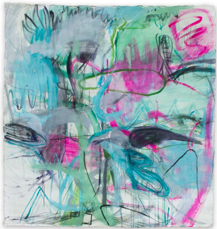Macha POYNDER - Painting - Abolition du temps unique
