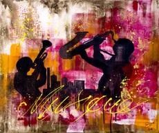 Sylvie MAGNIN - Pintura - Crazy Music
