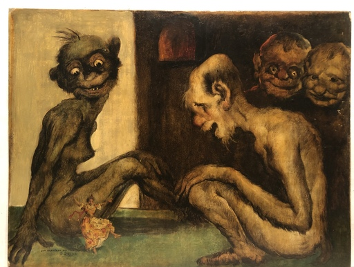 Daniel SABATER Y SALABERT - Pintura - A Valencian in hell