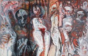 Adolf FROHNER - Painting - Liebe und Tod