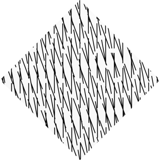 François MORELLET - Print-Multiple - 3D Concertant 70°-90°-80° detailed