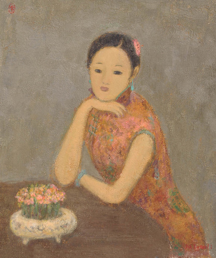 JIA Juanli - Gemälde - Jing Weng