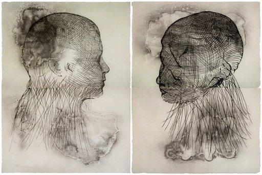 Jaume PLENSA - Grabado - Untitled, set of 2
