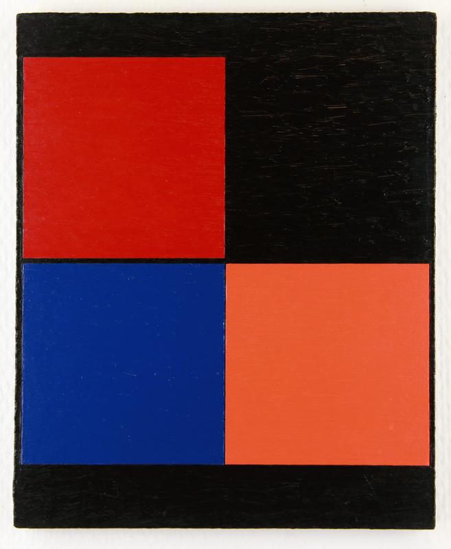 Aurélie NEMOURS - Painting - Angle noir