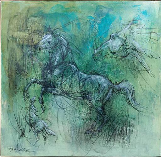 Pascal DABÈRE - Gemälde - Mystérieux et Fascinant