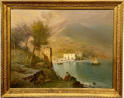 Salvatore PETRUOLO - Gemälde - Costa campana