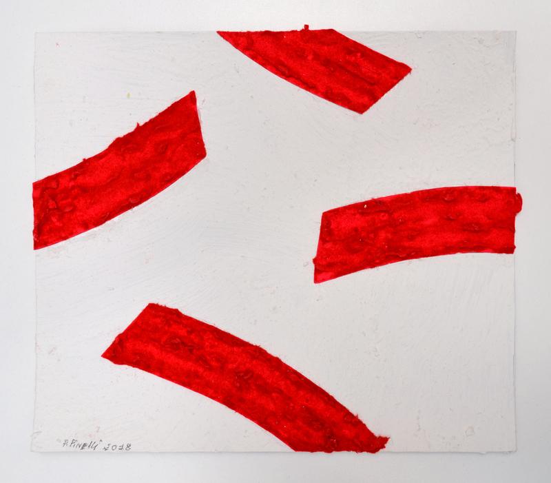 Pino PINELLI - Disegno Acquarello - Studio per Pittura R