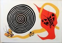 Alexander CALDER (1898-1976) - Butterflies and Spiral