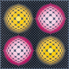 Victor VASARELY - Stampa Multiplo - Metagalaxie
