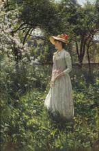 Eduard NICZKY - Painting - Frühling