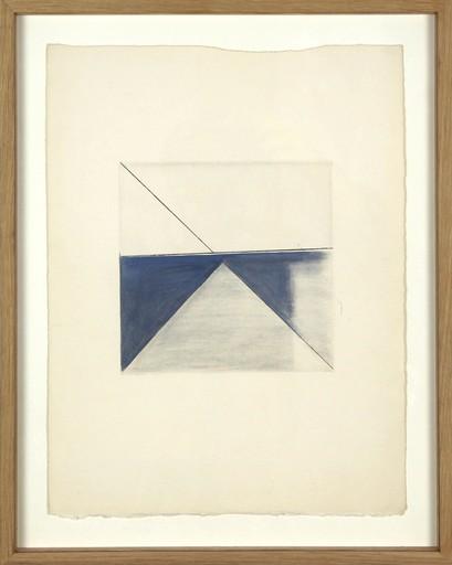 Geneviève ASSE - Painting - Triangle lumière
