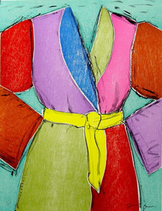 Jim DINE, The Yellow Belt