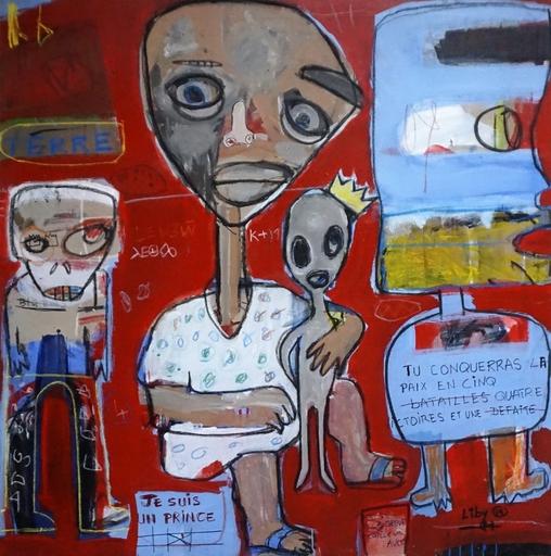 LIBY - Painting - La vie est un combat