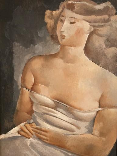 Rodolphe Théophile BOSSHARD - Gemälde - Femme assise