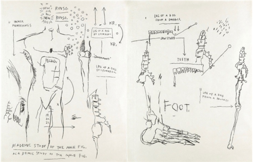 Jean-Michel BASQUIAT - Stampa Multiplo - Suite of Two Lifetime Prints