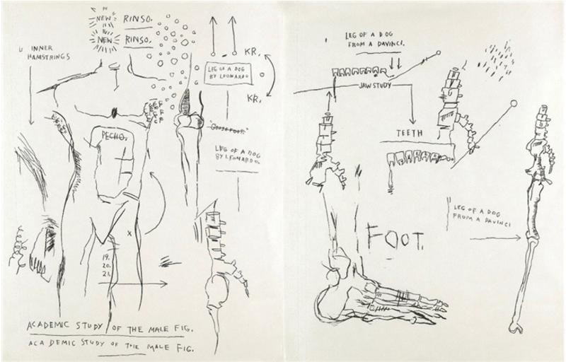 Jean-Michel BASQUIAT - Print-Multiple - Suite of Two Lifetime Prints