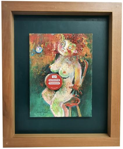Camillo FAIT - Peinture - Pubblicità occulta (maternità multietnica)