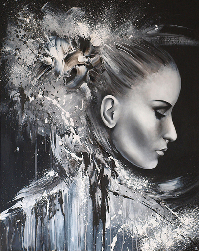 Estelle BARBET - Peinture - Ange ou Démon