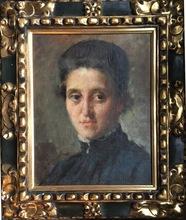 Arnaldo FERRAGUTI - Pintura - Retrato de Dama