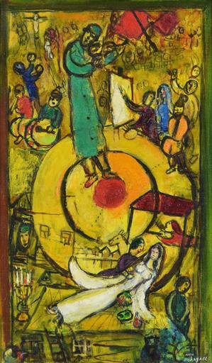 Marc CHAGALL - Gemälde - Libération
