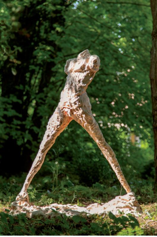 Serge MANSAU - Sculpture-Volume - Les petits marcheurs 3