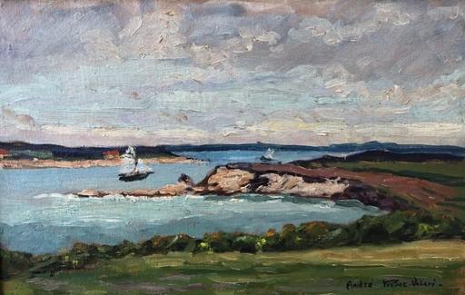 André PRÉVOT-VALERI - Pintura - Bord de mer