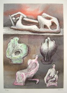 "Henry MOORE, ""Five Ideas for Sculpture"" (Cramer 610)"