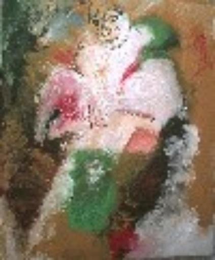 Bernard MOREL - Peinture - LE CLOWN
