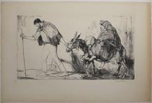 Armand COUSSENS - Print-Multiple - La Fuite en Egypte