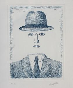 René MAGRITTE - Stampa-Multiplo - Paysage de Baucis