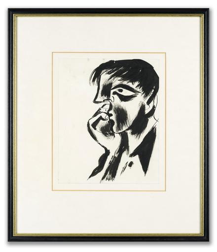 John CRAXTON - Disegno Acquarello - Scillonian Head