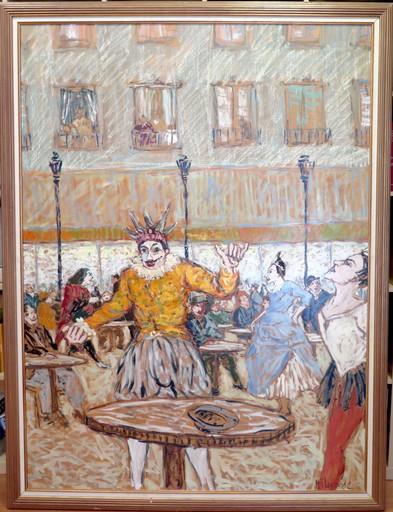 Marc CLAUZADE - Peinture - Commedia dell'arte