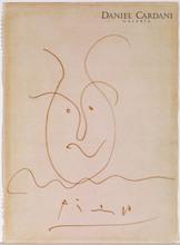 Pablo PICASSO - Zeichnung Aquarell - Head