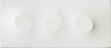 Turi SIMETI - Pintura - Tre ovali in bianco