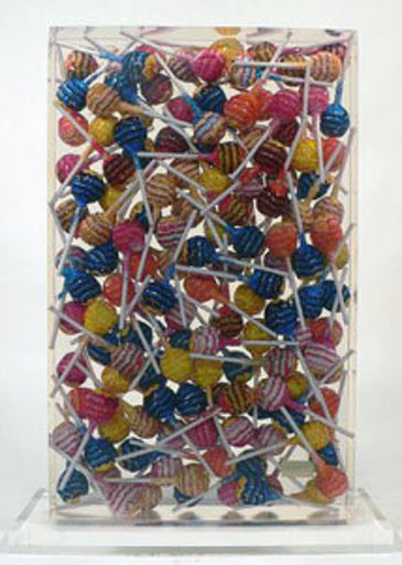 Fernandez ARMAN - Sculpture-Volume - Chupa Chups