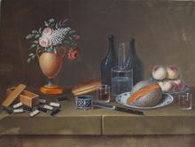 Johann Rudolf FEYERABEND - Dibujo Acuarela - natures mortes