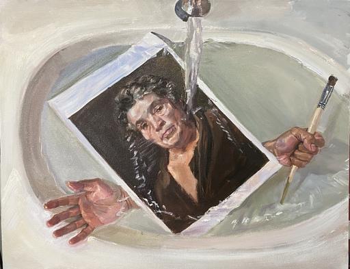 Yu SU - Gemälde - Engulfment