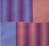 Carlos CRUZ-DIEZ - Estampe-Multiple - Induction chromatique (Red/Blue)