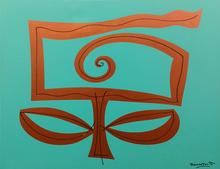 Romero BRITTO - Peinture - AQUA GARDEN