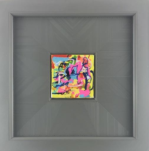 Nicole LEIDENFROST - Gemälde - Personen mit Pink